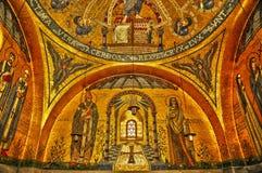 Alsace den Sainte Odile kloster i Ottrott Royaltyfria Foton