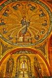 Alsace den Sainte Odile kloster i Ottrott Arkivfoto