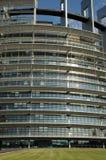 Alsace, the European Parliament of Strasbourg Stock Photos