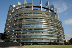 Alsace, the European Parliament of Strasbourg Royalty Free Stock Images