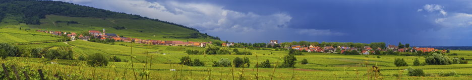 Alsace landscape Royalty Free Stock Photography