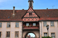 Alsace, the picturesque city of  Rosheim Stock Image