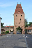 Alsace, the picturesque city of  Rosheim Royalty Free Stock Photos