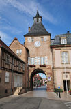 Alsace, the picturesque city of  Rosheim Stock Photography