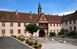 Alsace, the picturesque city of  Rosheim Royalty Free Stock Photography