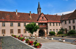 Alsace, the picturesque city of  Rosheim Royalty Free Stock Image