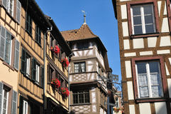 Alsace, the picturesque city of Strasbourg in Bas Rhin Stock Images