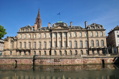 Alsace, the picturesque city of Strasbourg in Bas Rhin Stock Image