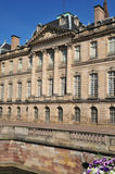 Alsace, the picturesque city of Strasbourg in Bas Rhin. France, the Rohan Palace in Strasbourg in Bas Rhin Stock Images