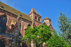 Alsace, the picturesque village of Marmoutier Royalty Free Stock Photography