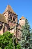 Alsace, the picturesque village of Marmoutier Stock Photos
