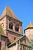 Alsace, the picturesque village of Marmoutier Royalty Free Stock Photos