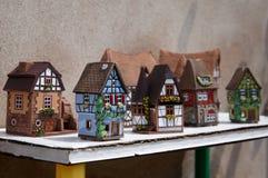 Alsace's houses Stock Photos