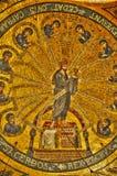 Alsace Sainte Odile monaster w Ottrott Obrazy Royalty Free