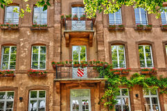 Alsace, the Sainte Odile monastery in Ottrott Royalty Free Stock Photo