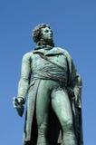 Alsace statyn av Kleber i Strasbourg fotografering för bildbyråer