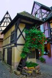 Alsace village Eguisheim Stock Photos