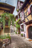 Alsace village Eguisheim Royalty Free Stock Images