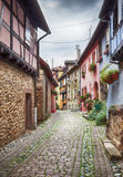 Alsace village Eguisheim Royalty Free Stock Image