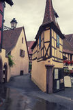 Alsace village Eguisheim Royalty Free Stock Photos