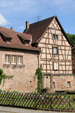 Alsace, the village of  Turckheim in Haut Rhin Royalty Free Stock Images