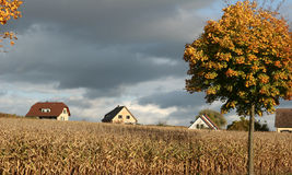 Alsacian village Stock Photo