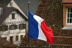 Alsacian village Stock Image