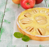 Alsatian apple pie Stock Photography