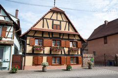Alsatian house Stock Photography