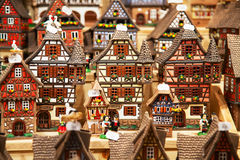 Alsatian houses Stock Photos
