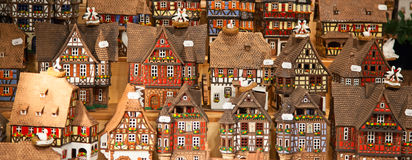 Alsatian houses Royalty Free Stock Photo