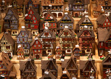Alsatian houses Royalty Free Stock Images