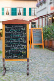 Alsatian menu Stock Photo