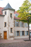 Alsatian place in Mulhouse Royalty Free Stock Photo