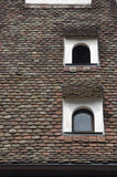 Alsatian roof Stock Photography