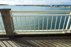 Alsea Bay From Bridge Royalty Free Stock Image
