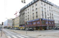 Alserbachstrasse Immagine Stock Libera da Diritti