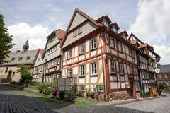 Alsfeld Assia Germania della città storica Fotografie Stock