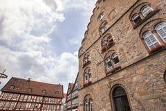 Alsfeld Assia Germania della città storica Fotografia Stock