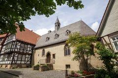 Alsfeld Assia Germania della città storica Fotografia Stock Libera da Diritti