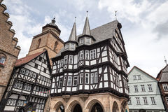 Alsfeld Assia Germania di Townhall Fotografia Stock