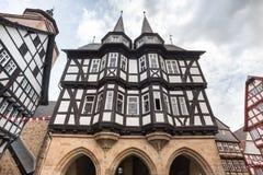 Alsfeld Assia Germania di Townhall Immagine Stock