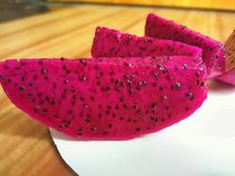 Dragon Fruit. This is also called Pitaya Roja Stock Images