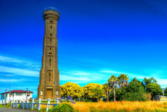 Durie Hill Tower - Wanganui. Also represent at a war memorial. It sits on top of Durie Hill and accessible via road, walkway and elevator Royalty Free Stock Images
