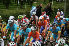 We also ride in the Tour de France Stock Photo