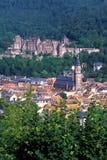 alstadt德国海得尔堡老城镇 库存图片