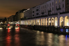 The Alster Arcades Stock Images