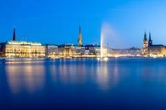 Alster Lake, Hamburg Stock Image