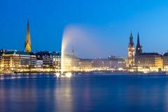 Alster Lake, Hamburg Royalty Free Stock Photo