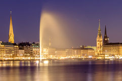 Alster Lake, Hamburg Stock Image